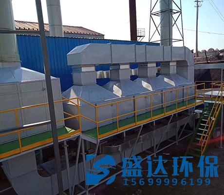 北京30000风量有机废气催化燃烧装置催化性能高